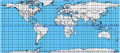 utm coordinate grid