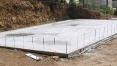 concrete slab thickness