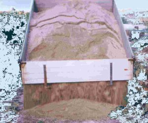 Stockpile - tipping or dumping angle