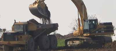 soil - expansion from borrow to lorry or dump fill