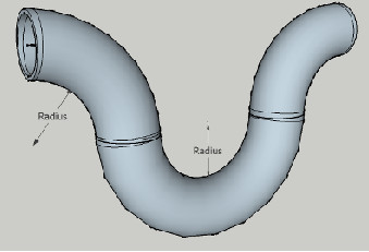 Pipe expansion loop