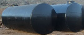 Underground fuel oil tank