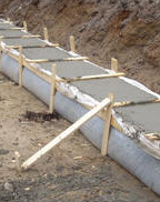 Concrete footing - volume