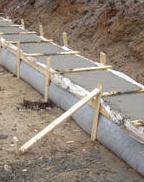 estimate concrete footing
