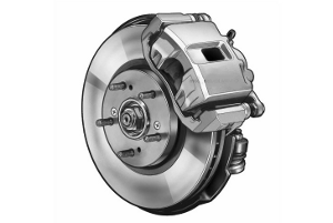 Disk brake - force and torque