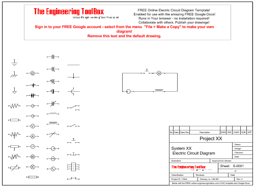 Wiring Diagram Templates : Schematic diagram template get free image about wiring