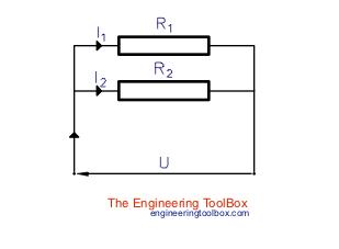 electric circuit current divider