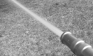 garden hose jet flow
