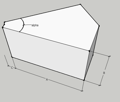 Rectangular Square Angle Duct Elbow