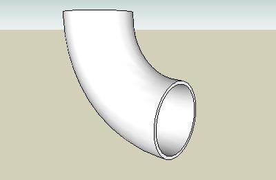 stainless steel long radius elbow 90
